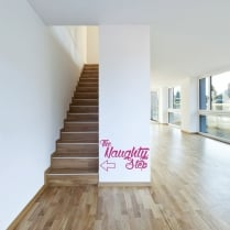 The Naughty Step Wall Sticker