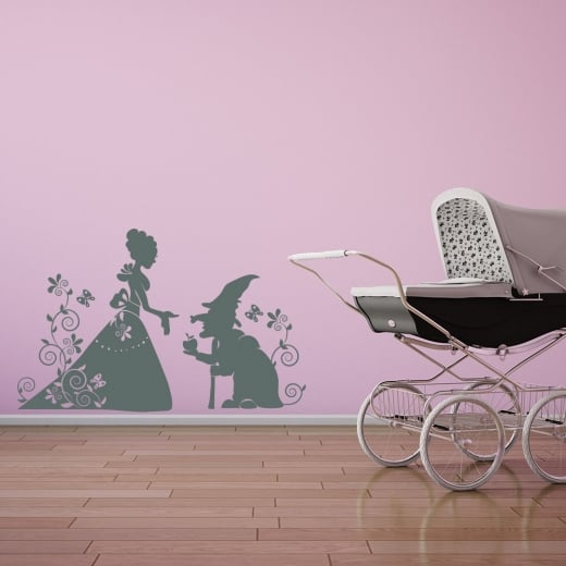 Wall Chimp The Princess And Goblin Wall Sticker