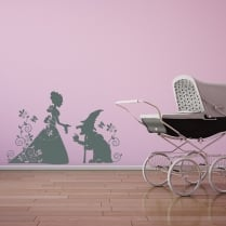 The Princess And Goblin Wall Sticker
