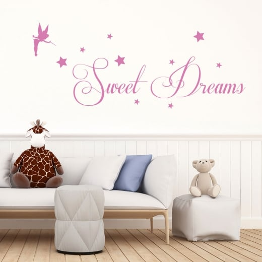Wall Chimp Tinker Bell Sweet Dreams Wall Sticker