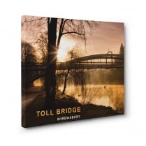 Toll Bridge - Shrewsbury Canvas Print