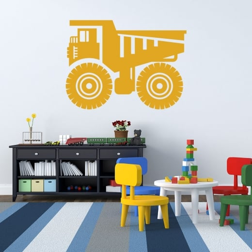 Wall Chimp Tonka Truck Wall Sticker