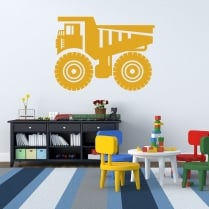 Tonka Truck Wall Sticker