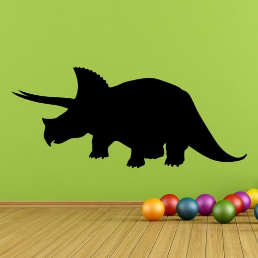 Wall Chimp Triceratops Dinosaur Wall Sticker