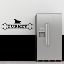 Turkey Kitchen Wall Sticker Quote