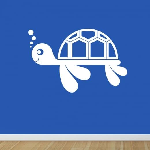 Wall Chimp Turtle Wall Sticker