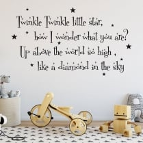 Twinkle Twinkle 2 Wall Sticker