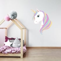 Unicorn Printed Wall Sticker