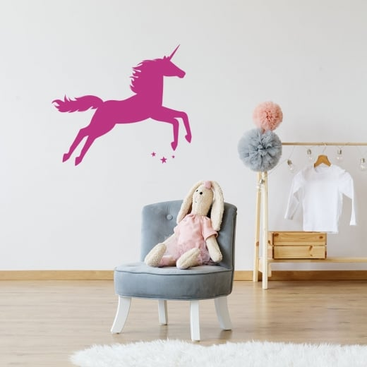Wall Chimp Unicorn Two Wall Sticker