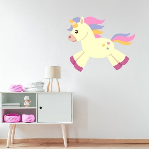 Wall Chimp Unicorn Wall Sticker