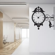 Vintage Wall Sticker Clock