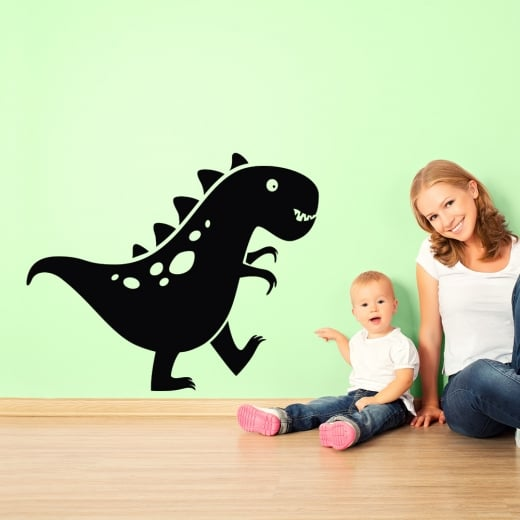 Wall Chimp Walking Dinosaur Wall Sticker