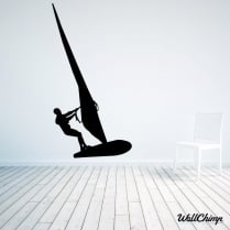 Wind Surfer Wall Sticker