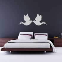 Wings Of Love Wall Sticker