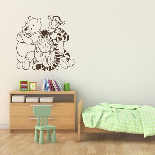 Wall Chimp Winnie The Pooh & Friends Wall Sticker