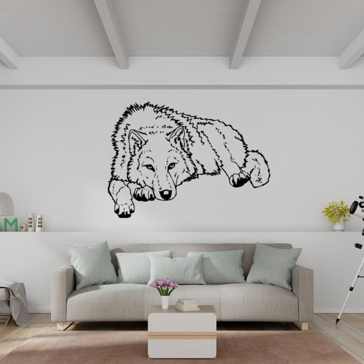 Wall Chimp Wolf Wall Sticker