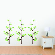 Three Tree Wall Sticker Collection