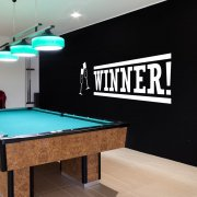 Winner Casino Wall Sticker