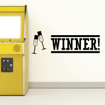 Winner Wall Sticker
