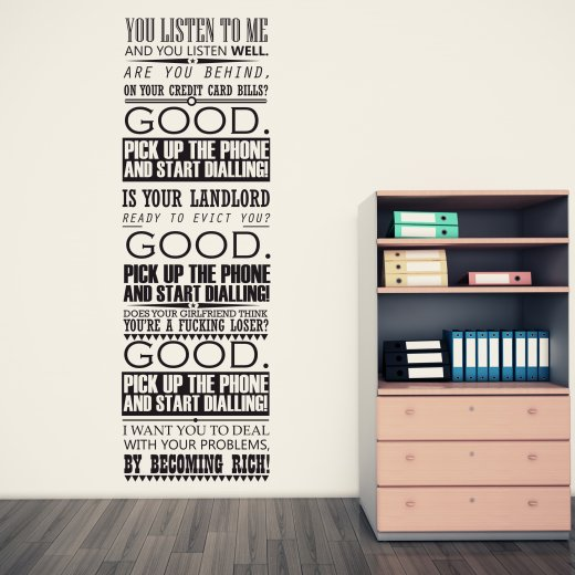 Custom Wall Quote Stickers Uk