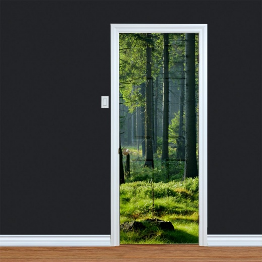 Woodland Digitally Printed Door