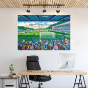 Wycombe Wanderers, Adams Park Football Ground Wall Sticker